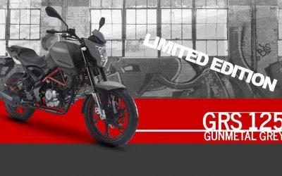 KSR MOTO GRS 125 Gunmetal Grey – un modello speciale poco appariscente