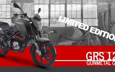 KSR MOTO GRS 125 Gunmetal Grey – een opvallend model!